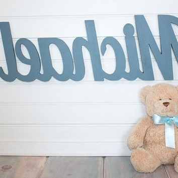 Well Known Personalized Nursery Wall Art Within Shop Personalized Baby Wall Hangings On Wanelo (View 5 of 15)