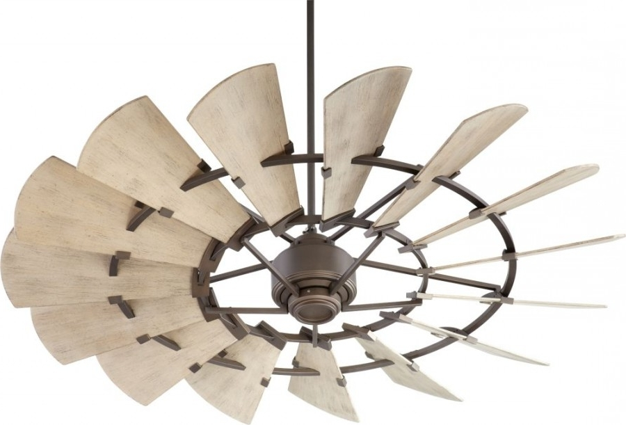Well Known Quorum Outdoor Ceiling Fans For Quorum International 196015 Windmill 60 Inch Outdoor Ceiling Fan (View 8 of 15)