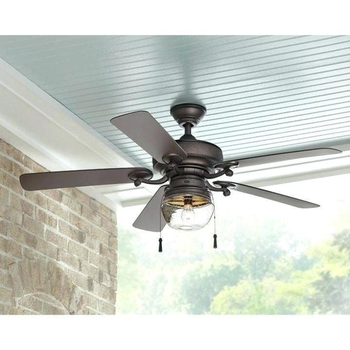 Well Known Rattan Ceiling Fan Wicker Fans White With Light – Hitmangear (View 9 of 15)
