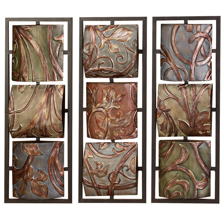 Well Known Stainless Steel Outdoor Wall Art Inside Creative Designs Outdoor Wall Decor Metal Interior Designing Home (View 10 of 15)