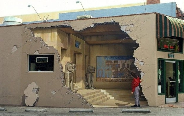 Well Known Stunning 3D Illusions Street Art (View 7 of 15)