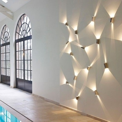 Well Known Unbelievable 7 Lighting Wall Art 17 Best Ideas About Led Lights On Pertaining To Wall Art Lighting (View 14 of 15)