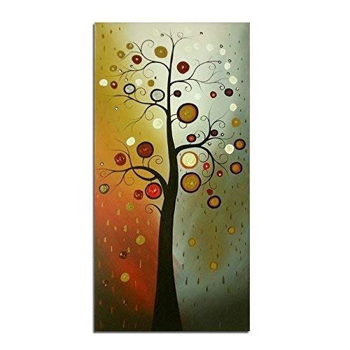 Well Known Vertical Canvas Art: Amazon Within Long Vertical Wall Art (View 15 of 15)