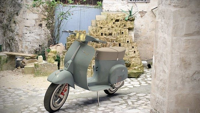 "Well Known Vespa 50 Special""art Ner Http://www.forum (View 7 of 15)"