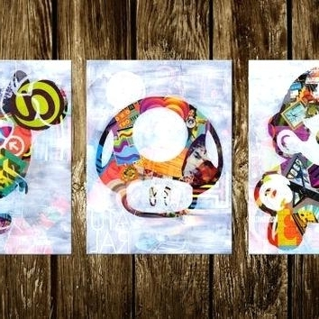 Well Known Video Game Wall Art Super Art Print Illustration Set Of Three Wall Pertaining To Video Game Wall Art (View 15 of 15)