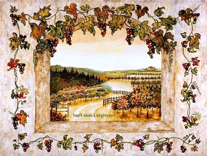 Well Known Vineyard Painting Lovely Wall Art Designs Terrific Vineyard Wall Art Inside Vineyard Wall Art (View 9 of 15)