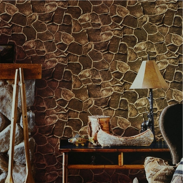 Well Known Vintage 3D Wall Art Throughout Beibehang Brick Photo Wallpaper 3D Wall Paper Luxury Vintage For (View 13 of 15)
