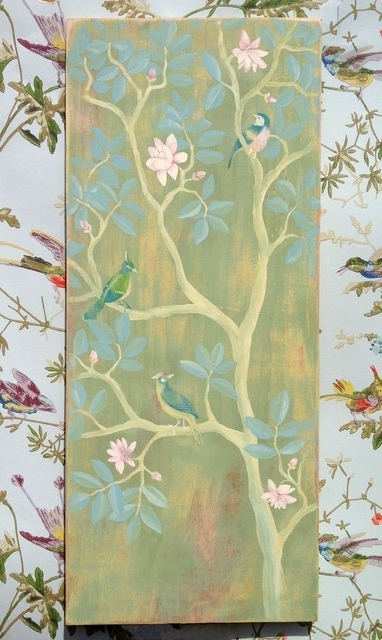 Well Known Wall Art Ideas Design : Electic Paintings Chinoiserie Wall Art Inside Chinoiserie Wall Art (View 15 of 15)