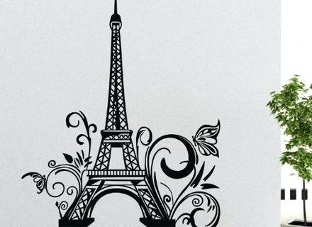Well Known Wall Decals Paris Theme With Wall Decal Awesome Decals Wall Art With Regard To Paris Theme Wall Art (View 15 of 15)
