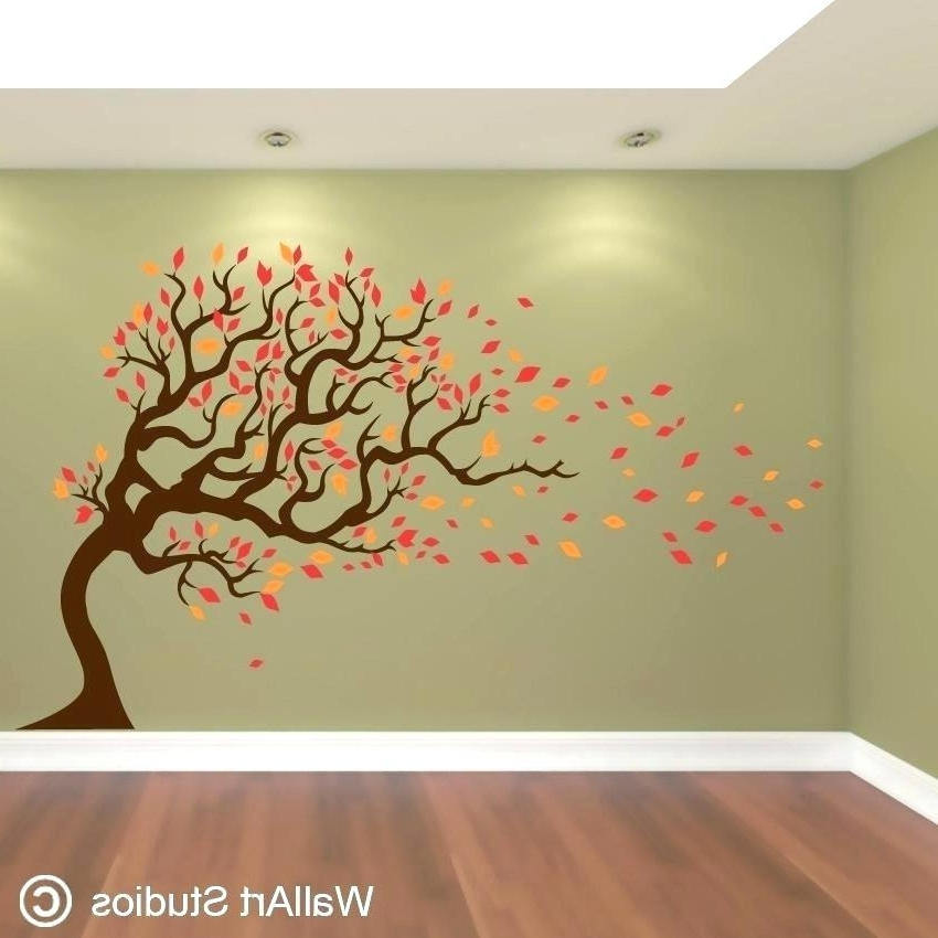 Well Known Wall Decor Target Wood Wall Decor Target Art Designs Awesome Trees Inside Painted Trees Wall Art (View 15 of 15)