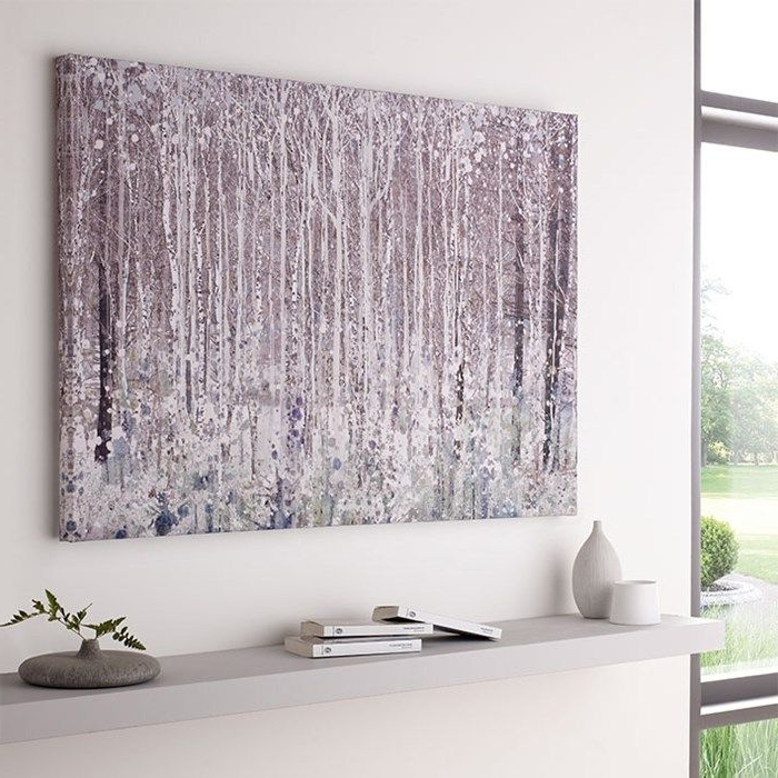 Well Known Watercolour Woods Printed Canvas – Landscape Wall Artgraham Intended For Graham & Brown Wall Art (View 15 of 15)