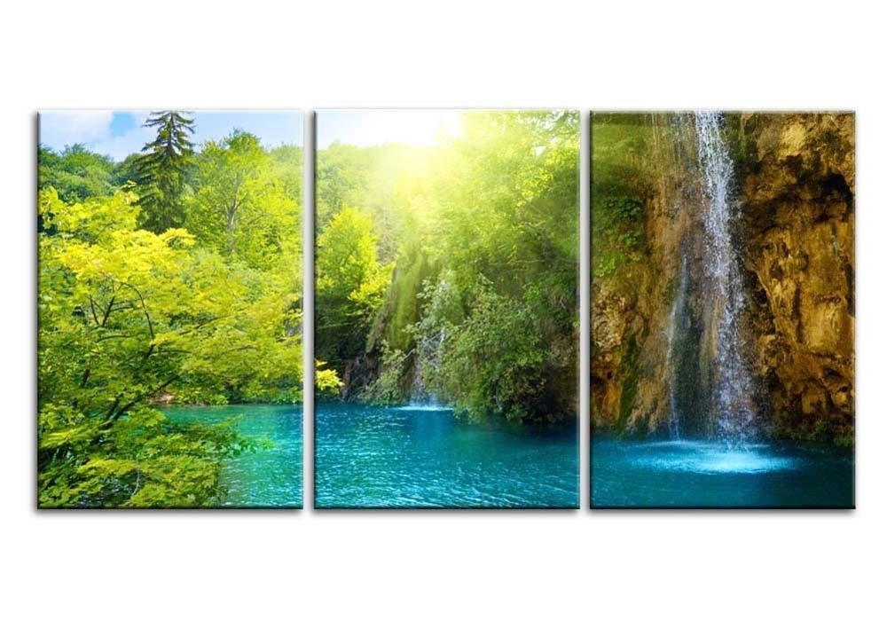 Featured Photo of Waterfall Wall Art