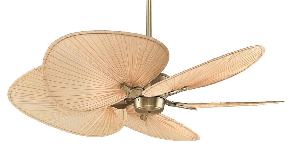 Well Known Wicker Outdoor Ceiling Fans With Lights Pertaining To Outdoor Ceiling Fan Blades Tropical Outdoor Ceiling Fan Rattan Fans (View 13 of 15)
