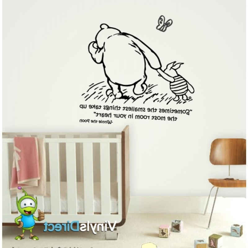 Well Known Winnie The Pooh Wall Decals – Home Design And Wall Decoration Ideas Throughout Winnie The Pooh Wall Decor (View 11 of 15)