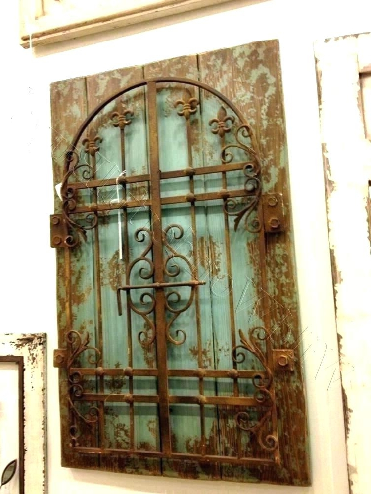 Well Known Wood And Iron Wall Decor Metal Gate Wall Decor Metal Gate Wall Art With Regard To Iron Gate Wall Art (View 15 of 15)