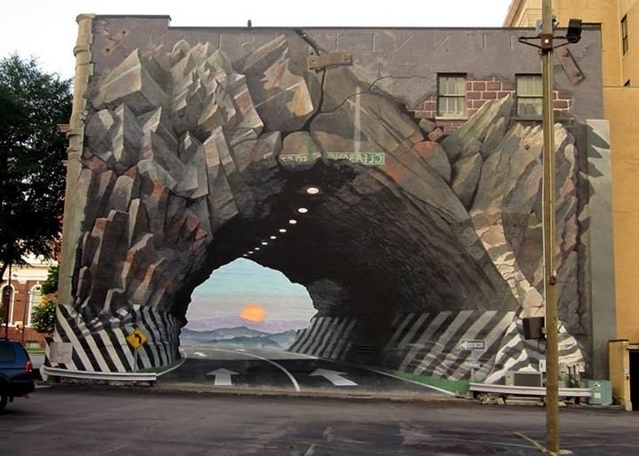 Well Liked 3D Wall Art Illusions Throughout 3D Street Wall Art  (View 6 of 15)