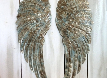 Well-liked Angel Wings Sculpture Plaque Wall Art in 31 Angel Wings Wall Art, Wings Wall Art Angel Wings Large Silver