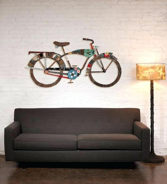 Well Liked Bicycle Wall Art Decor – Chastaintavern (View 9 of 15)