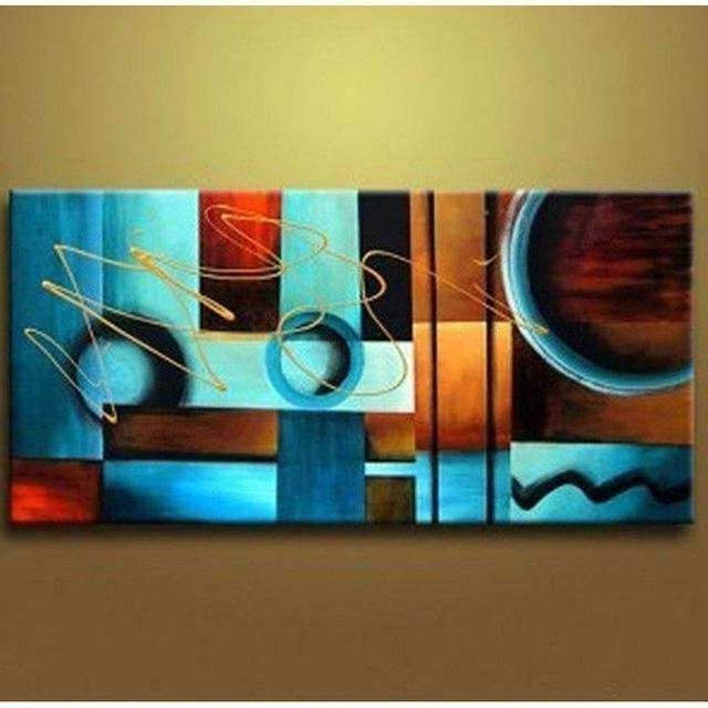 Well Liked Blue And Brown Wall Art Best Of 20 Best Collection Of Blue And Brown Inside Blue And Brown Abstract Wall Art (View 6 of 15)