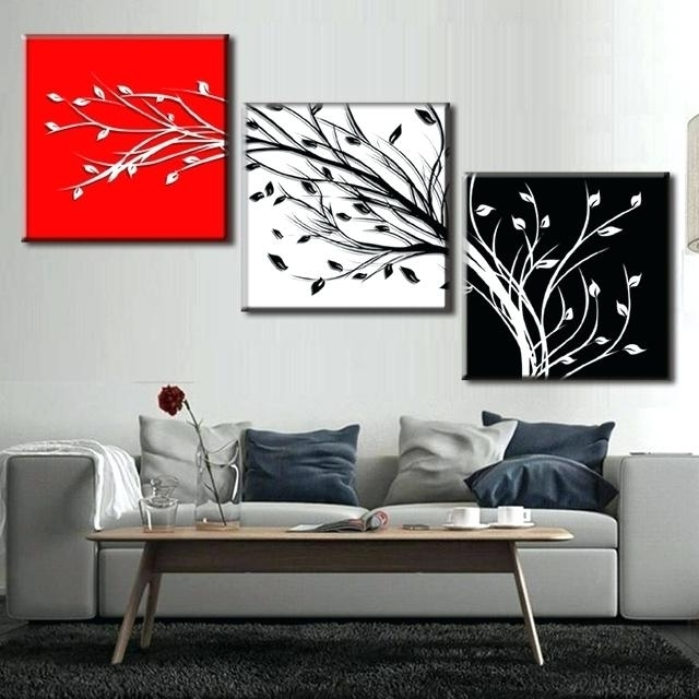 Well Liked Canvas Wall Art Sets Of 3 In Canvas Wall Art Sets Of 3 Set Of 3 Canvas Wall Art 3 Piece Framed (View 13 of 15)
