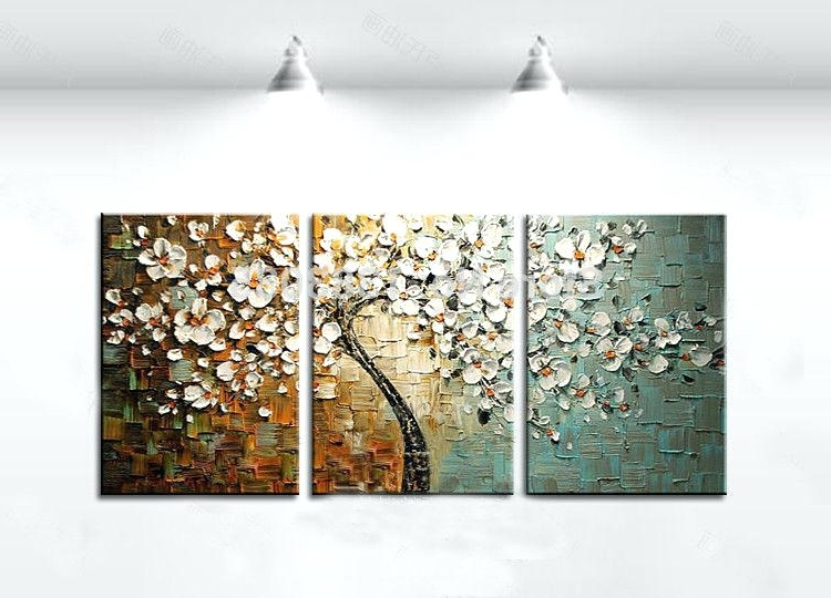 Well Liked Canvas Wall Art Sets Of 3 Within 3 Piece Wall Decor Gallery Of Amazing Gallery Of 3 Piece Canvas Wall (View 15 of 15)