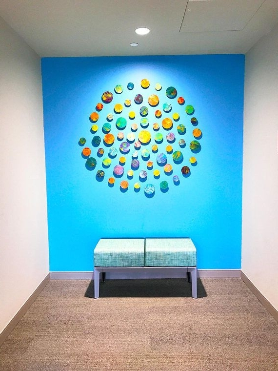 Well Liked Circles 3D Wall Art Intended For Circles 3D Wall Art (View 9 of 15)