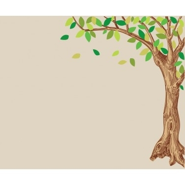 Well Liked Corner Oak Large Tree Decal For Children With Oak Tree Wall Art (View 9 of 15)