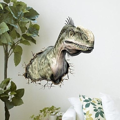 Well Liked Dinosaurs 3D Wall Art Intended For Dinosaur Wall Stickers – Wall Art Kids (View 7 of 15)