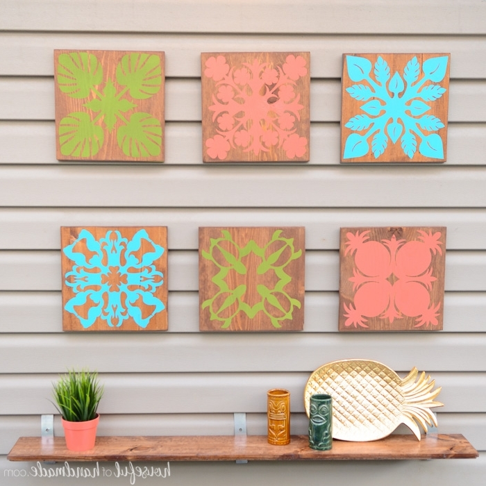 Well Liked Easy Tropical Wall Art Diy – Houseful Of Handmade For Hawaiian Wall Art Decor (View 15 of 15)