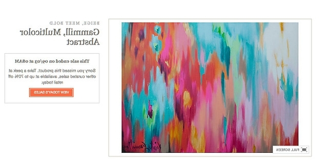 Well Liked Home Coming: Diy Abstract Canvas Art With Diy Modern Abstract Wall Art (View 9 of 15)