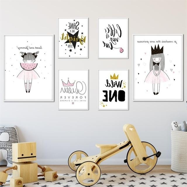 Well Liked Kids Canvas Wall Art With Regard To 20 Inspirations Nursery Canvas Wall Art Wall Art Ideas, Nursery (View 15 of 15)