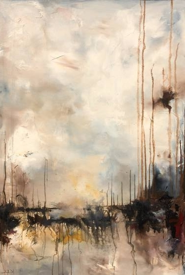 Well Liked Kindred Abstract Metal Wall Art Regarding Saatchi Art: Kindred Paintingnicholas Kriefall (View 15 of 15)