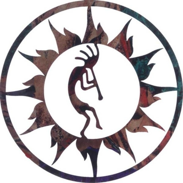 Well Liked Kokopelli Sun 18 Southwestern Metal Wall Decor Sold Out Outstanding Pertaining To Kokopelli Metal Wall Art (View 14 of 15)