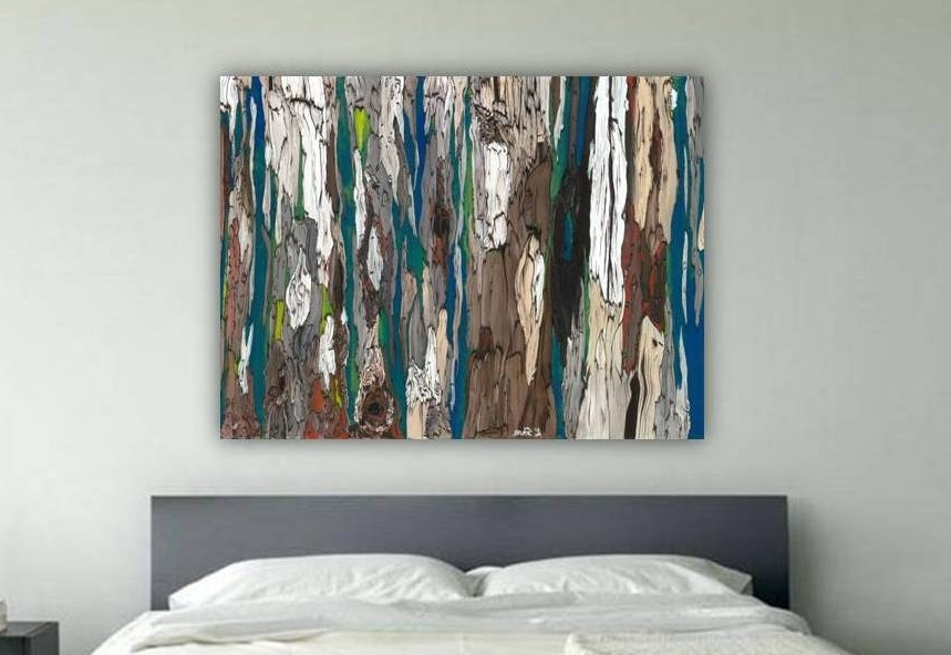 Well Liked Large Teal Wall Art Throughout Oversized Masculine Extra Large Wall Art Canvas Bedroom (View 2 of 15)
