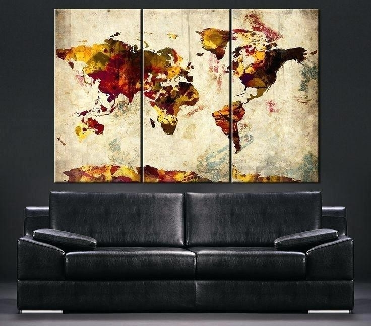 Well Liked Large Vintage Wall Art Inside Large Retro Wall Art Best Large Wall Art Canvas Printing Images On (View 15 of 15)