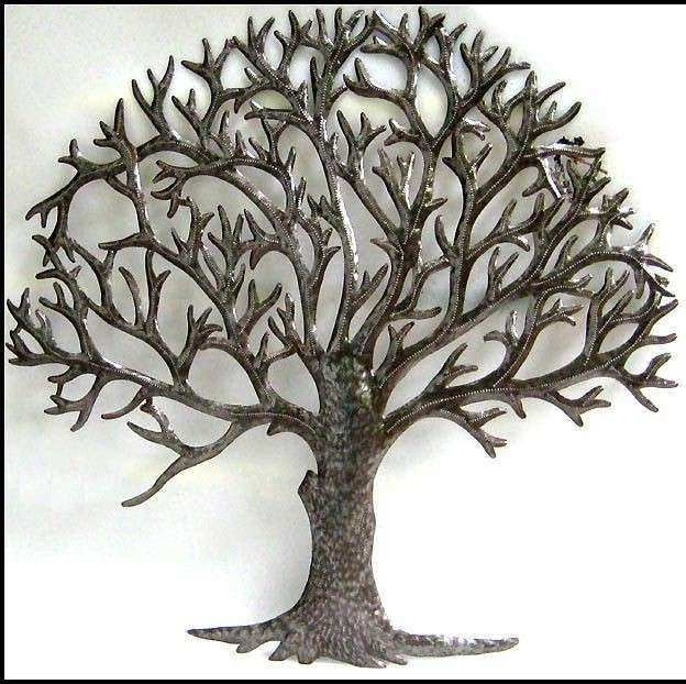 Well Liked Metal Tree Art Wall Decor Awesome Metal Tree Wall Art Sculpture Within Tree Wall Art Sculpture (View 14 of 15)