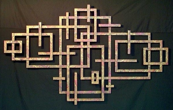 Well Liked Metal Wall Art That Makes A Statement, Geometric Metal Wall Art With Regard To Abstract Geometric Metal Wall Art (View 2 of 15)
