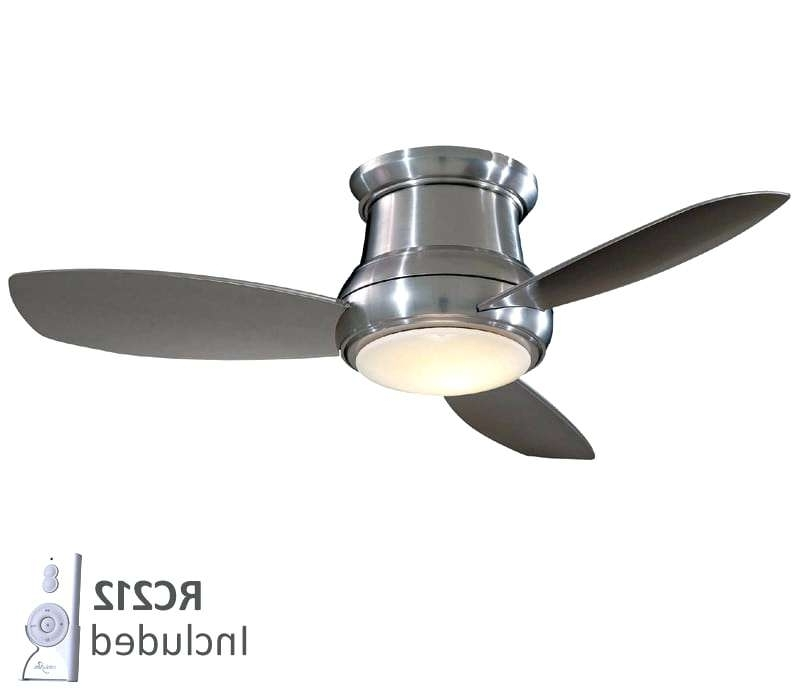 Well Liked Mini Outdoor Ceiling Fans With Lights For Flush Mount Outdoor Ceiling Fan With Light – Wamayug (View 15 of 15)