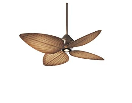 Well Liked Minka Outdoor Ceiling Fans With Lights Within Minka Aire F581 Orb, Gauguin Oil Rubbed Bronze 52 Inch Outdoor (View 15 of 15)