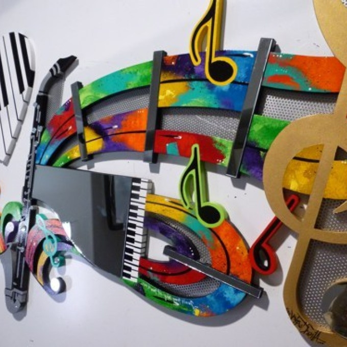 Well Liked Music Wall Art Uk Awesome Metal Music Wall Art Uk Wall, Abstract Art With Regard To Metal Music Wall Art (View 14 of 15)