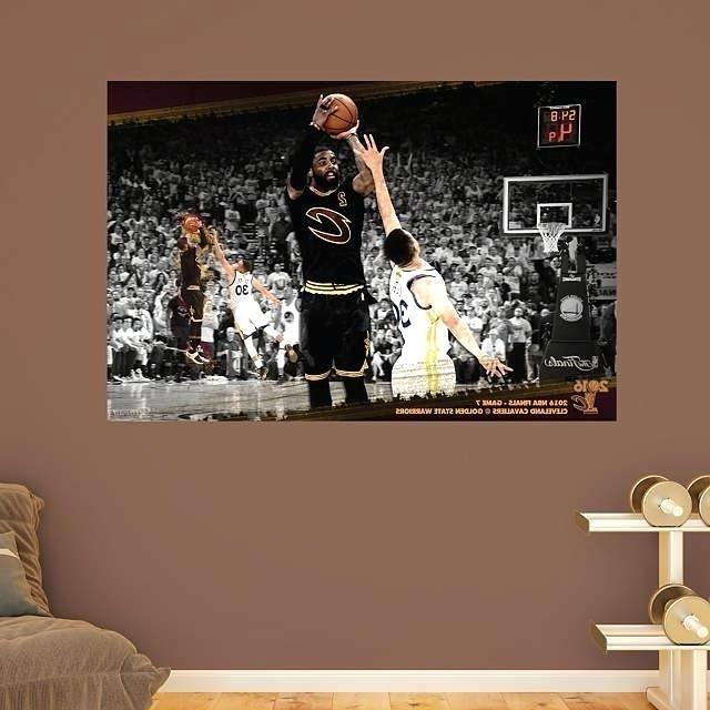 Well Liked Nba Wall Art Hawks Basketball Team Retro Nba Wall Art With Nba Wall Murals (View 14 of 15)