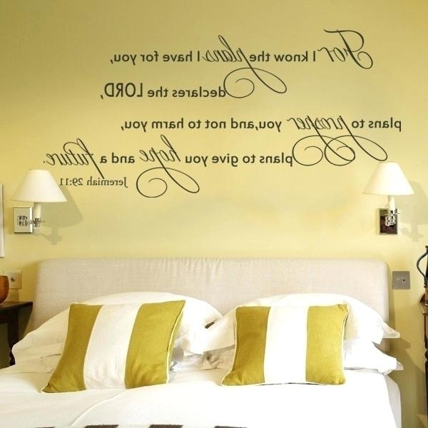 Well Liked Nursery Bible Verses Wall Decals Throughout Zoom Bible Verse Wall Decals Art For Nursery Decal – Stapt (View 14 of 15)