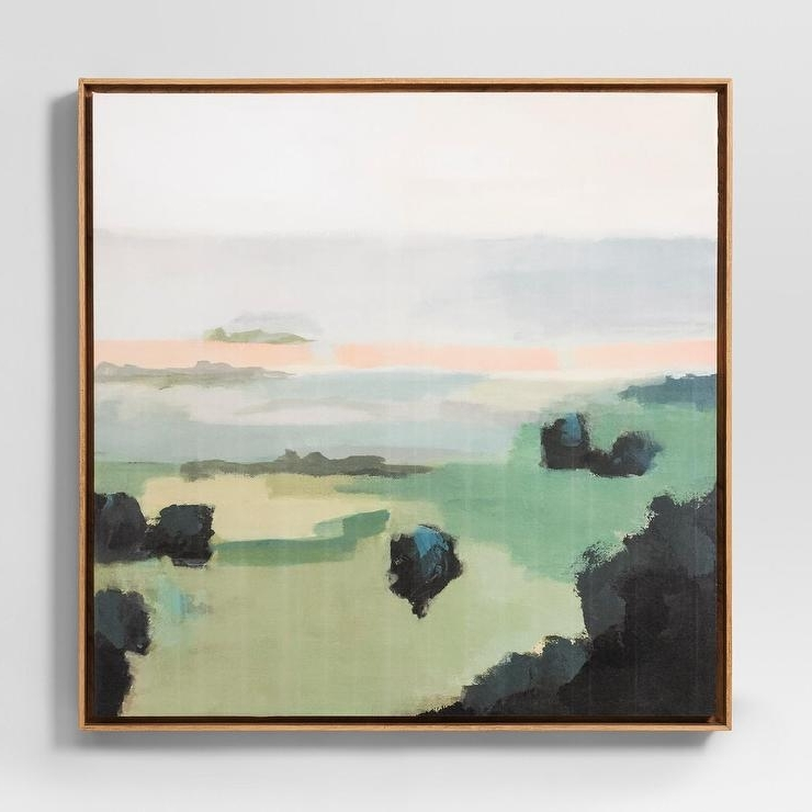 Well Liked Project 62 Pastel Landscape Abstract Wall Art With Regard To Pastel Abstract Wall Art (View 9 of 15)