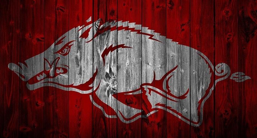 Well Liked Razorback Wall Art With Razorback Wall Art Arkansas Razorbacks Barn Door Mixed Media Dan (View 14 of 15)