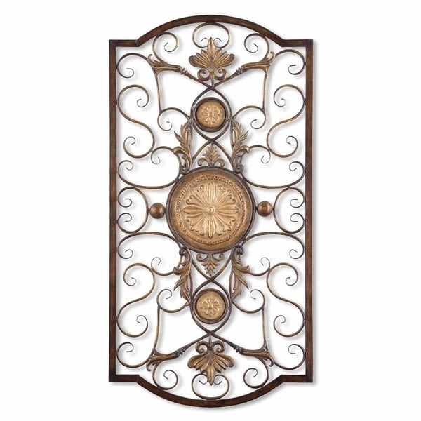 Well Liked Shop Uttermost Micayla Large Metal Wall Art – Free Shipping Today Throughout Uttermost Metal Wall Art (View 14 of 15)
