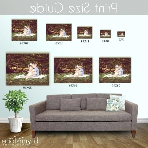Well Liked Sofa Size Wall Art Inside Wall Art Size Guide Wall Size Pictures Post Wedding Products Image (View 15 of 15)