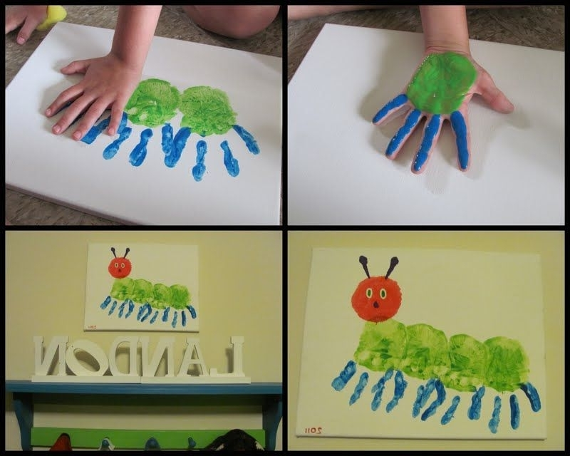 Well Liked The Very Hungry Caterpillar Wall Art (View 8 of 15)