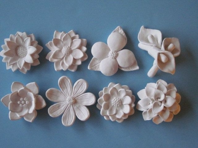 Well Liked Wall Art Ideas Design : Relaxing Looks Ceramic Flower Wall Art With Ceramic Flower Wall Art (View 7 of 15)