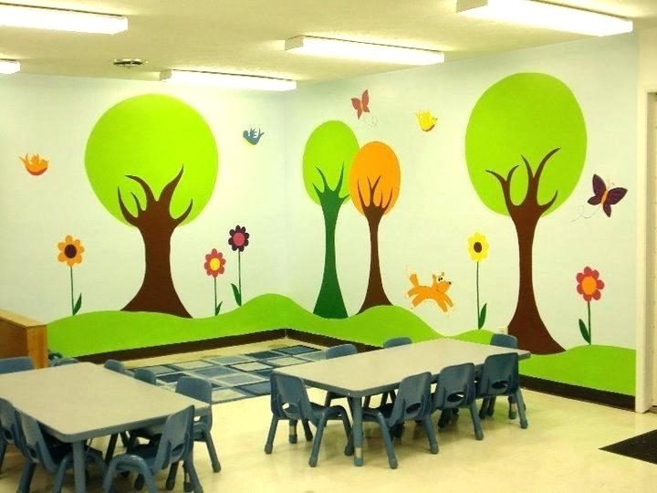 Well Liked Wall Design Ideas For Classroom Classroom Wall Decor Beautiful With Regard To Preschool Wall Art (View 13 of 15)