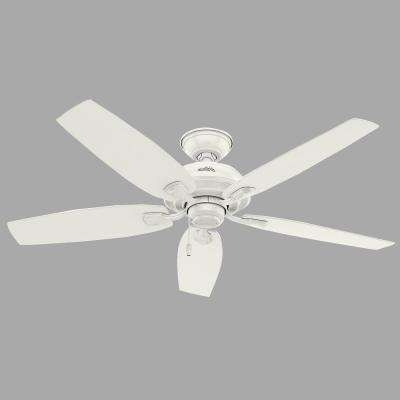 Well Liked White – Outdoor – Ceiling Fans – Lighting – The Home Depot Throughout Outdoor Ceiling Fan No Electricity (View 15 of 15)